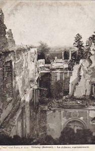Le Chateau, Vue Interieure, Tilloloy (Somme), France, 1900-1910s