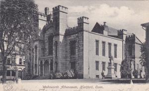 HARTFORD , Connecticut , PU-1907; Wadsworth Athenaeum