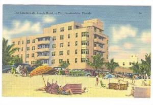 The Lauderdale Beach Hotel at Fort Lauderdale,  Florida,  30-40s