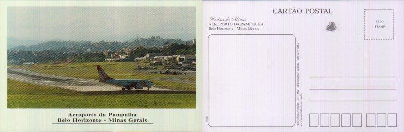 BRASIL, MINAS GERAIS, BELO HORIZONTE, AEROPORTO DA PAMPULLHA  [54924]A