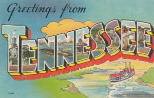 Large Letter TENNESSEE, 1930-40s
