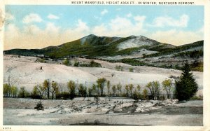 VT - Mt Mansfield in Winter