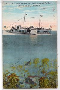Glass Bottom Boat, Catalina Island CA