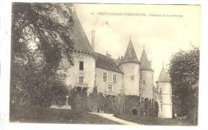 Chateau De Bourlemont, Neufchateau-Frebecourt (Vosges), France, 1900-1910s