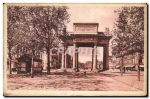 Toulouse Old Postcard Monument Affairs of Haute Garonne and the boulevard Carnot