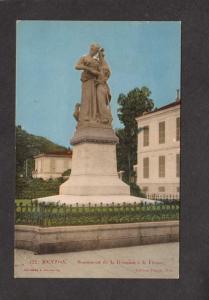 France Menton Monument Reunion a la France Carte Postale Postcard French