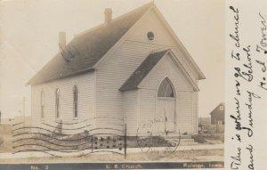 RP: RALSTON , Iowa , 1907 ; U.B. Church