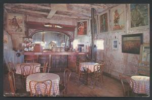 Calico Ghost Town Yermo Barstow Interior Saloon LiL's California Postcard