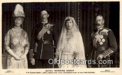 Queen Mary & King George V British Royalty Postcard Postcards  Queen Mary & K...