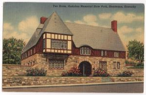 Tea Room, Audubon Memorial Park, Henderson KY