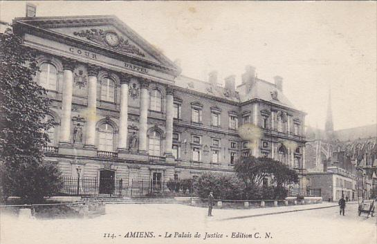 France Amiens Le Palais de Justice