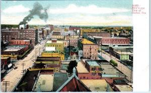 DALLAS, TX Texas   BIRDSEYE VIEW of  CITY  c1900s   Postcard