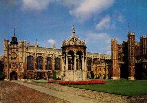 England Cambridge Trinity College The Great Court