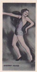 Phillips Vintage Cigarette Card Beauties Of To-Day 1938 No 46 Sherry Haase