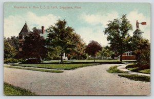 Sagamore MA~ESS Keith Residence~Osgood Bradley Rwy Car Co Vice President~c1910
