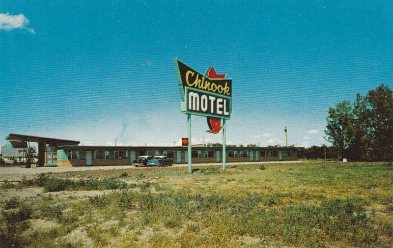 LETHBRIDGE , Alberta , Canada , 50-60s ; Chinook Motel version 2