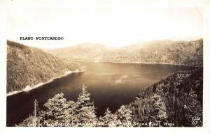 STORM KING, WASHINGTON EAST OF LAKE CRESCENT AND VANCOVER ISL. RPPC REAL PHOTO