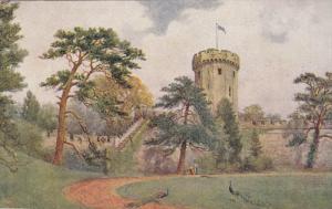 WARWICK, Warwickshire, England, 1900-1910´s; Guy's Tower, Warwick Castle