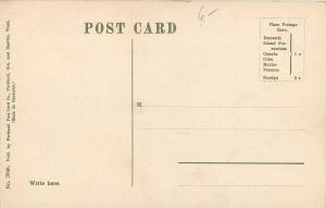 Portland Oregon~Town View~Homes~Dirt Roads~Mt Hood~1910 Postcard