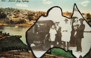 Australia Repro Postcard, 1925 Neutral Bay, Sydney, Pygery, Port Lincoln 11O