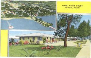 Linen of River Winds Court U.S. 41 & 301 at Palmetto Florida