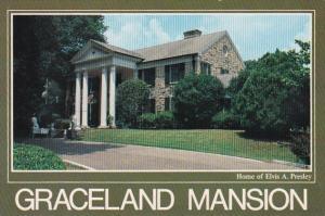 Elvis Presley Graceland Mansion Memphis Tennessee