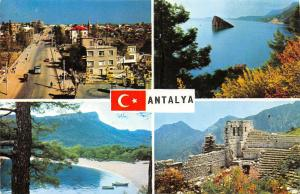 Turkey Antalya Some views from City Boats Beach Panorama