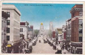 Street view,  Capitol Avenue,  Cheyenne,  Wyoming,   00-10s