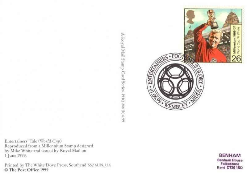 Bobby Moore England Football Limited FDQ PHQ Frank Postcard