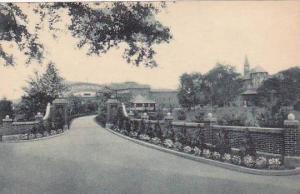 New Jersey Danville Entrance Saint Francis Health Resort Albertype
