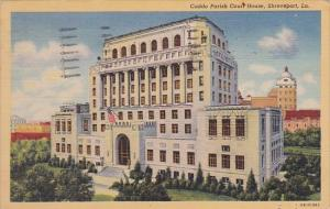 Louisiana Shreveport Caddo Parish Court House 1957