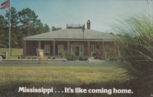 Mississippi Welcome Center East Of Meridian On I-59