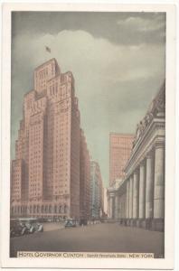 Hotel Governor Clinton, New York City, unused Postcard