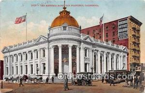Hibernia Bank San Francisco, CA, USA Postcard Post Card San Francisco, CA, US...