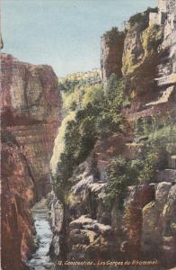 CONSTANTINE, Algeria, Africa, 1900-1910's; Les Gorges Du Rhummel