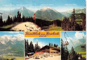 Rundblick vom Hirscheck Gashtaus, Pension Chairlift Mountains Hintersee