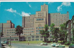 Street View, Exterior of the Beautiful Montreal General Hospital, Montreal, Q...