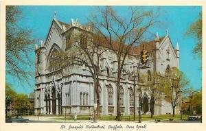 Buffalo New York~St Joseph Cathedral @ Delaware & Utica 1963 PC