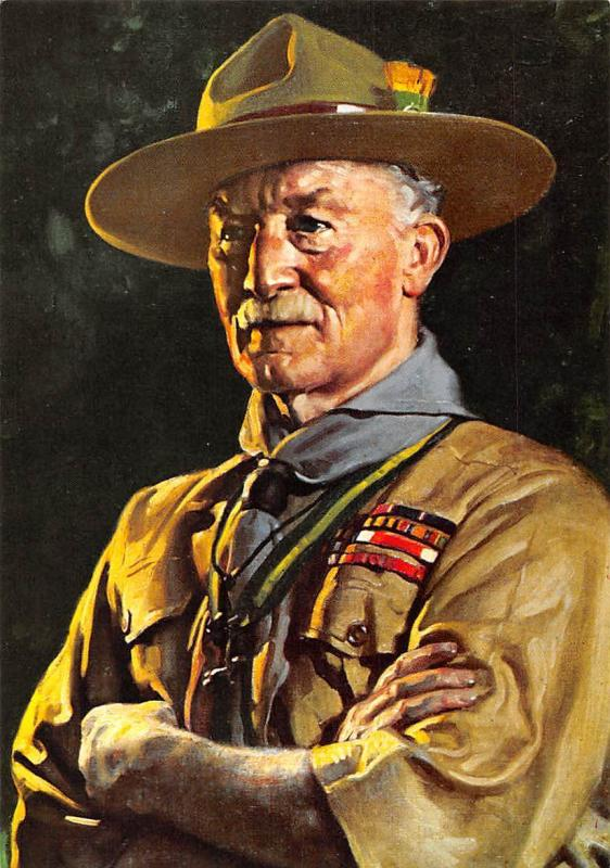 Scouting Lord Baden Powell Of Gilwell Uniform From Painting By David