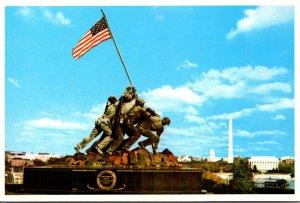 Washington D C United States Marine Corps War Memorial Iowa Jima