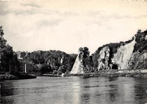 Belgium Godinne La Meuse et le Tunnel de Fidevoye