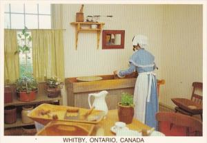 Canada Ontario Whitby The Kitchen The Lynde House Museum