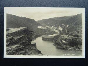 Cornwall BOSCASTLE  - Old RP Postcard A.H.Hawke 5319