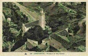 Algeria Constantine Marabout de Sidi Rached Tower Air view Postcard