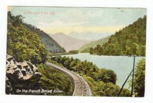 Railroad Tracks On the French Broad River, Land of the Sky, , North Carolin...