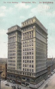 MILWAUKEE, Wisconsin, 1909; The Wells Building