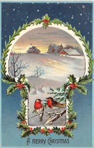 United Art Publishing Advertisement Christmas Unused