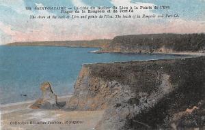 Saint Nazaire France La Cote du Rocher du Lion a la Pointe Saint Nazaire La C...