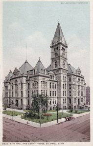 ST. PAUL, Minnesota, 1900-1910's; City Hall And Court House
