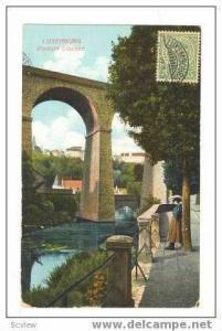 Luxembourg  Viadukt Clausen, PU -1912